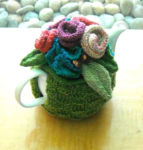 A loverly teapot cozy for a most loverly friend